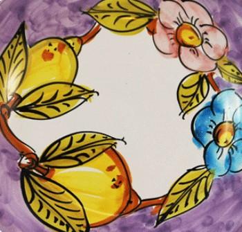 Sorrento ( limoni e fiori )