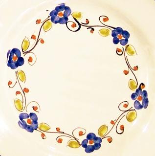 Fiorellino ( bordino di fiorellini e foglie )