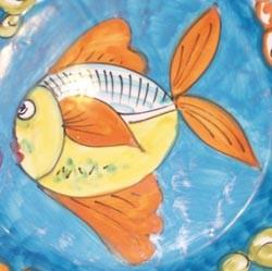 Fondo Mare ( pesciolini su fondo colorato )