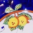 costiera ( due limoni su fondo colorato )