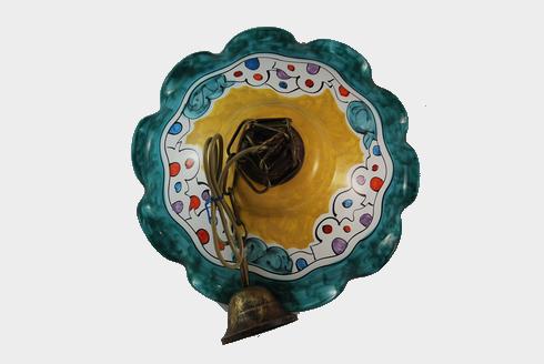 Lampadari varie misure ceramiche vietri